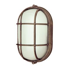 Features:  -One light outdoor bulkhead.  -Ribbed glass.  -UL listed for wet location.  -Cast aluminum construction.  -Outdoor collection.  -Wall mountable: Yes.  Fixture Type: -Bulkhead Light.  Fixtur