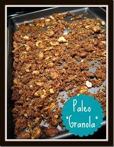 """My Paleo """"Granola"""" Recipe"""