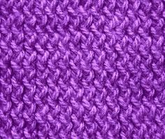Knitting Galore: Saturday Stitch: Zig Zag Stockinette Stitch