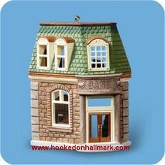 Bank, Nostalgic Houses & Shops Series Hallmark Ornament, 2006