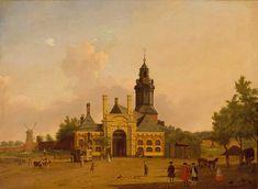 De Haarlemmerpoort is jarig en bestaat 175 jaar. Vandaag wordt een stralend schilderij in het zonnetje gezet: http://hart.amsterdammuseum.nl/nl/page/52832/020today-haarlemmerpoort-175-jaar