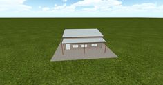 3D #architecture via @themuellerinc http://ift.tt/2ku7KgR #barn #workshop #greenhouse #garage #DIY