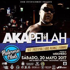 - FALTA POCO BUENOS AIRES POR QUE UDS LO PIDIERON ANTICIPADAS V.I.P - ------------------ A K A P E L L A H @akapellahoficial  ------------------- - Unica presentación el proximo 20 de Mayo en palermo Club ademas presentaciones en vivo de >> - F I A N R U  @fianru  (FULL SET) - K 1 2  @elkiko12 (LIVE SET) - K R I S  A L A N I Z @krisalaniz1  (ORIGINAL SET) - R I Z E  1 2 0 0 @rize1200  (LIVE SET) - Hosted by el único  inigualable carismático M I S I O N E R O @misioflow RUIDOOOOO!! TE LO VAS…