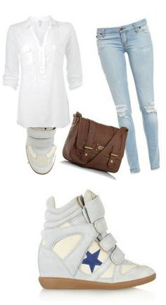 Bayley Isabel Marant Sneaker Suede White