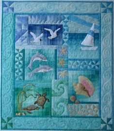 By the Sea Wall Quilt Kit