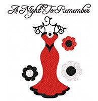 "This free embroidery design is called ""A Night to Remember"".  Get it today!"