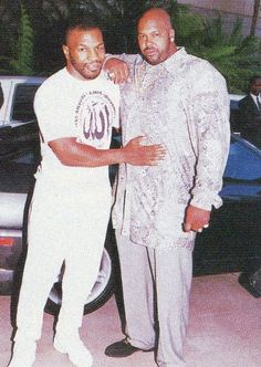 Mike Tyson and Suge Knight.. Heavyweights of the '90s.