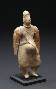 Pregnant Female Figure   Colima Mexico (Artist) PERIOD 300 BC-AD 200 (Late Formative-Early Classic) Colombian Art, Mother Goddess, Inca, Mexican Art, Ancient Artifacts, First Nations, Ancient History, Art Day, Archaeology