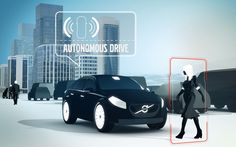 The world's first large-scale test of driverless cars will involve 100 Volvos   taking to the streets of Gothenburg in 2017