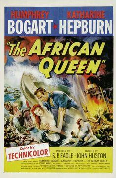 1951 - La reina de África (The African Queen) - John Huston
