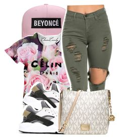"""""""."""" by trill-weirdo ❤ liked on Polyvore featuring NIKE and Michael Kors"""