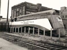 The Rexall (United Drug Company) Train, a promotional 12-car streamlined and air-conditioned train, 1936