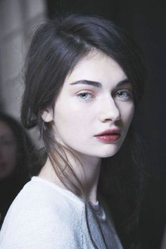 This girl looks like Сora, but Cora has brown eyes.