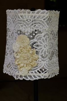 Hey, I found this really awesome Etsy listing at https://www.etsy.com/listing/99432924/handmade-vintage-doily-shabby-chic