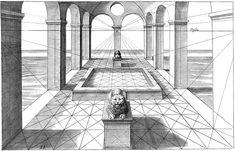 STUDIES IN PERSPECTIVE by: Jan Vredeman de Vries - Dover Publications EXCERPT 2