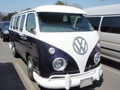 VW camper van lookalike! This is actually a Toyota Hiace! Yes, me, this van and the open road . .oh well, I can dream!
