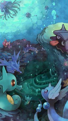 Deep zee pokemon