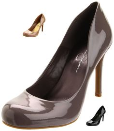 Jessica Simpson Women's Calie Pump. Tawny Mauve Patent. Other colors at lower price points! $51.90 -$79.99 ~ The Stilush Team