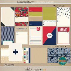 Documentary (Journal Cards)   by Sahlin Studio