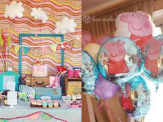 {BN Black Book of Parties} Whimsical Peppa Pig Party | A Blissful Nest