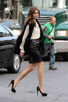 olivia palermo- 8 Essential Types of Shoes