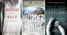 From psychological thrillers to mysterious murders, these novels will fright and delight you!