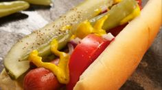 Chicago Style Hot Dog #ChicagoStyle #HotDog