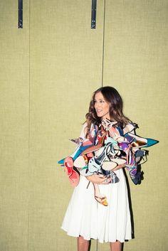Découvrez toutes les chaussures créées par Sarah Jessica Parker