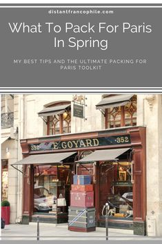 Heading to Paris in spring? Then make sure you check out my latest packing tips. And grab your free Packing for Paris toolkit. Paris In Spring, What To Pack, Travel Light, Packing Tips, Parisian Style, Trip Planning, I Am Awesome, France, Check