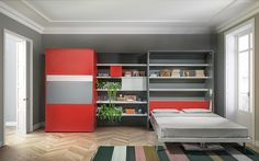 Transformable multi-functional furnitures by Clei
