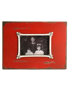 Zentique Red Picture Frame
