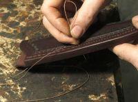 How to make a leather sheath