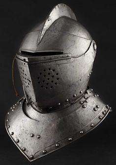 A South German tournament helmet, probably Augsburg, circa 1580