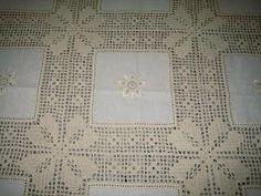 toalhas de mesa de jantar em croche - Pesquisa Google