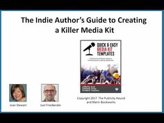 Indie Author's Guide to Creating a Killer Media Kit with Joan Stewart - YouTube