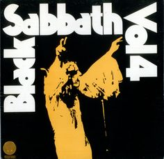 Black Sabbath, Vol. 4 - 1st - Swirl Inner - EX, UK, Deleted, vinyl LP album (LP record), Vertigo, 6360071, 68365