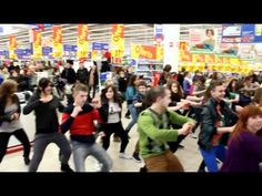 2nd Dance Flash Mob in Olsztyn (Supermarket Real) [HD]