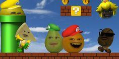 Annoying orange mario mashup