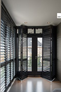 Patio Sliding Doors with Blinds . Patio Sliding Doors with Blinds . Patio Design, House Design, Interior Window Shutters, Black Shutters, Balcony Grill, Bedroom Balcony, Sliding Patio Doors, Japanese Interior, Dream House Plans