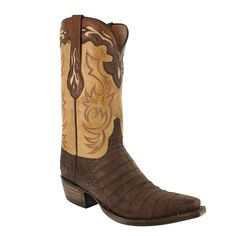 Lucchese Men's Exotic Caiman Western Boots