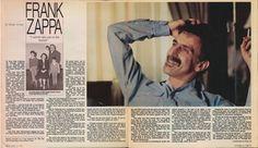 Zappa in the Baltimore Sun Magazine Oct 12, 1986 - The Maryland Years