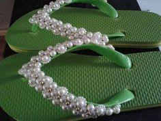 sandalia decorada com strass passo a passo - Pesquisa Google