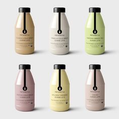 Almond milk lattes with wholesome ingredients and no refined sugar Milk Packaging, Dessert Packaging, Food Packaging Design, Beverage Packaging, Coffee Packaging, Bottle Packaging, Chocolate Packaging, Packaging Ideas, Almond Milk Latte