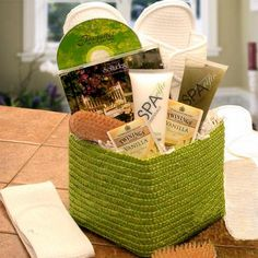 Homemade Spa Package for Mother's Day