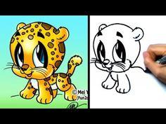how to draw jaguar spots