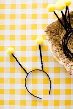 bumble bee antenna headband