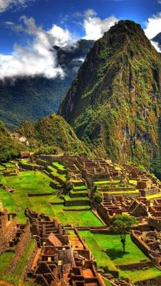 Machu Pichu. Gotta get in shape before this trip... The hike is a bitch!