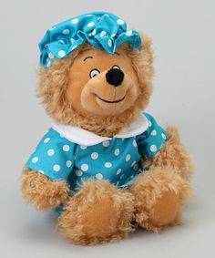 Take a look at this Mama Berenstain Bear Plush Toy by The Berenstain Bears on #zulily today!