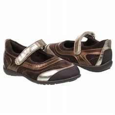 Jumping Jacks Gloria Tod/Pre/Grd Shoes (Chocolate) - Kids' Shoes - 1.0 W