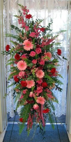 Idea Of Making Plant Pots At Home // Flower Pots From Cement Marbles // Home Decoration Ideas – Top Soop Casket Flowers, Altar Flowers, Church Flowers, Funeral Flowers, Home Flowers, Wedding Flowers, Purple Flower Arrangements, Funeral Floral Arrangements, Funeral Sprays